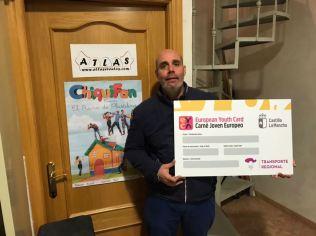 Atlas. Adhesión de empresas al descuento a jóvenes con carné joven europeo. Diciembre de 2017.