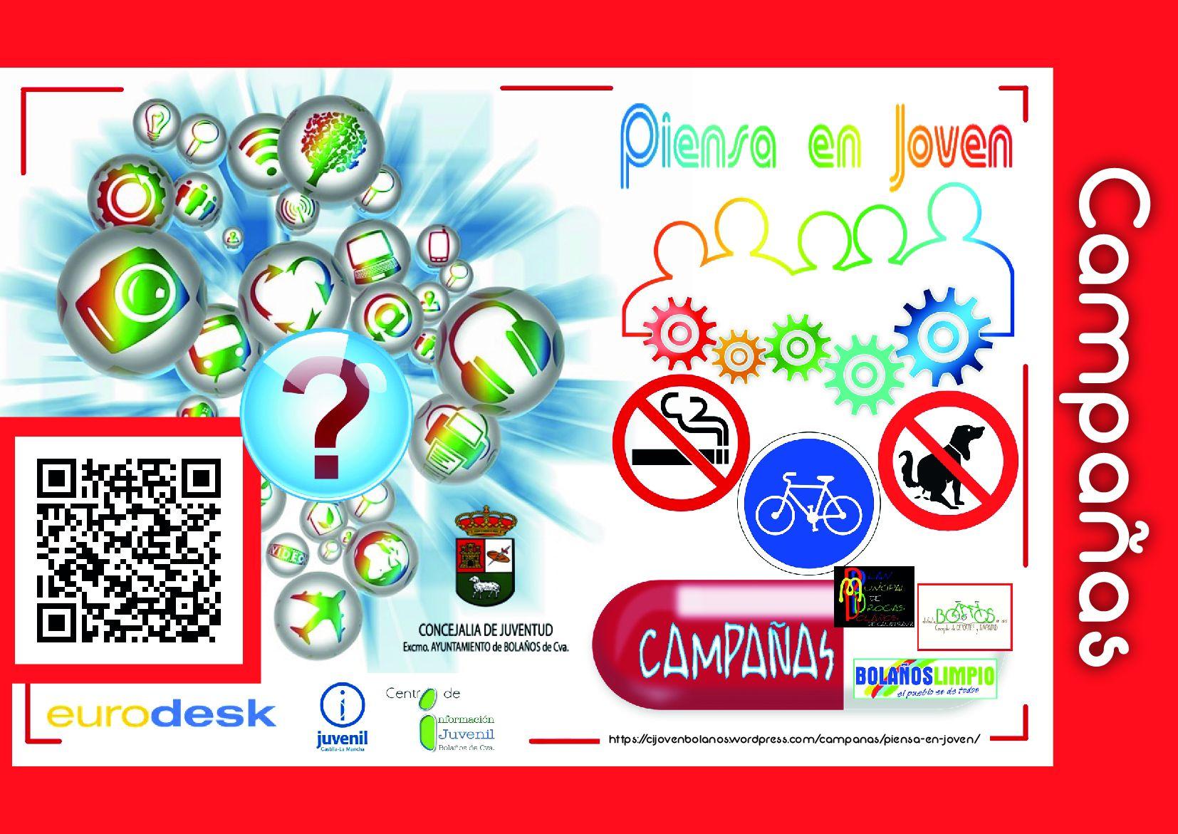 Piensa En Joven | Área de Juventud. Ayuntamiento de Bolaños.