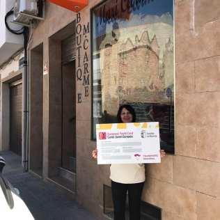 Boutique M. Carmen. Adhesión de empresas al descuento a jóvenes con carné joven europeo. Marzo de 2018.