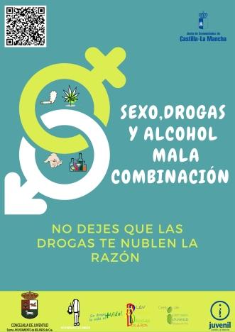 CARTEL SEXO, DROGAS Y ALCOHOL JPG