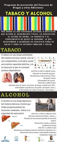INFOGRAFÍA TABACO Y ALCOHOL