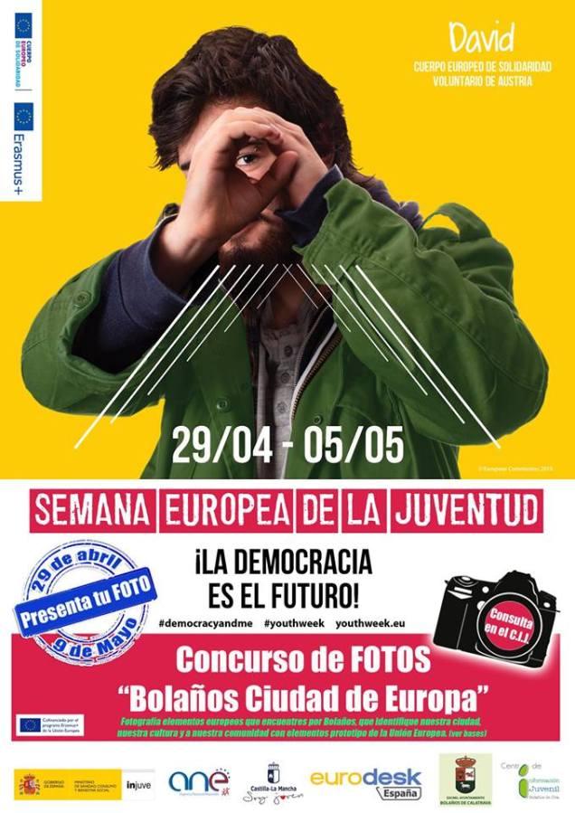 Concurso de fotos. Semana Europea de la Juventud. del 30 de abril al 10 de mayo.